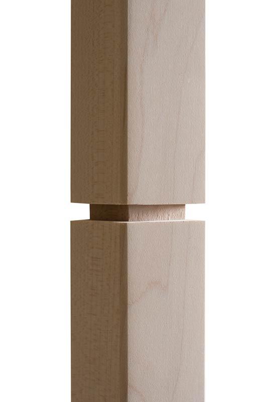 Horizontal Sawcut Wood Spindle zoom