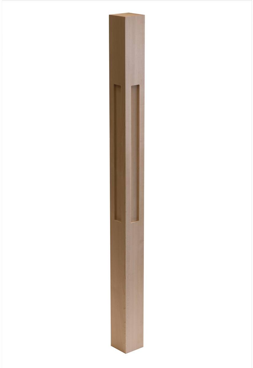 Shaker One Window Wood Post Cnc Stairs Spindles Amp Railings