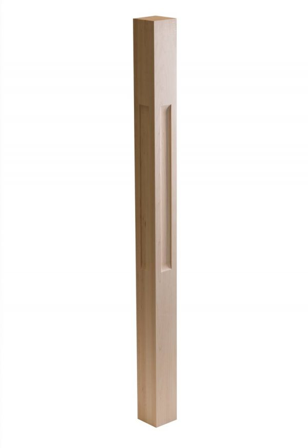 Shaker One Window Wood Post Scoop