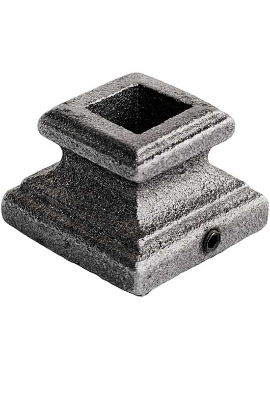 Square Flat Base Cap Forged Hp203 Stairs Spindles Amp Railings
