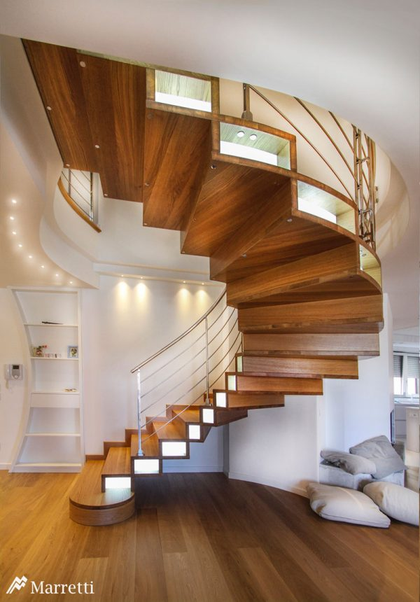 Marretti Eastern Curved Stair SSR