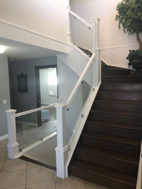Glass Rail with Clips SSR